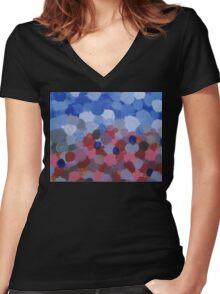 Merge Women's Fitted V-Neck T-Shirt