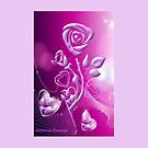 Roses and hearts design ( 1520 Views) by aldona