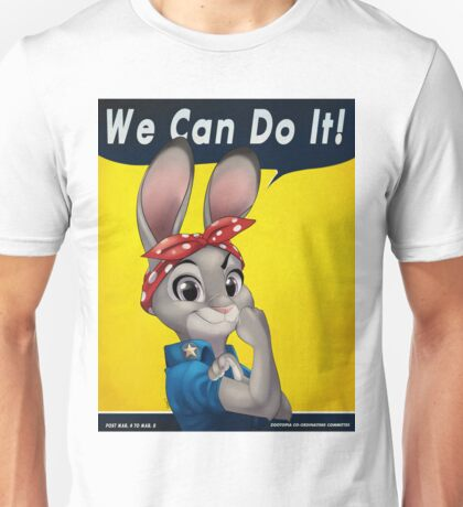 Zootopia - We can do it Judy Hopps Unisex T-Shirt