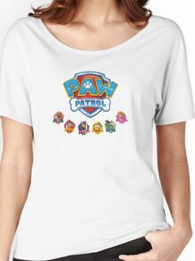 PUPS TO THE RESCUE! Women's Relaxed Fit T-Shirt