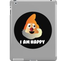 I am Happy iPad Case/Skin