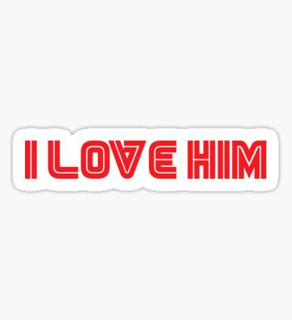 Mr. Robot - I love him Sticker