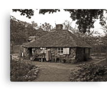 The Squatters Cottage Canvas Print