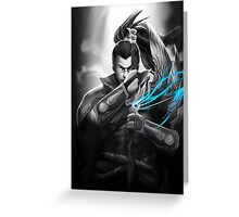Yasuo - League of Legends Greeting Card