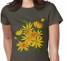 Jerusalem artichokes bouquet. Womens Fitted T-Shirt