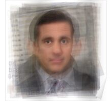 Michael Scott Portrait Poster