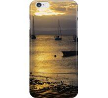 Sunset Savusavu Harbour (Landscape)  iPhone Case/Skin