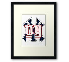 New york Sports Framed Print