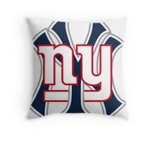 New york Sports Throw Pillow