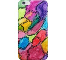 Colored gravel iPhone Case/Skin