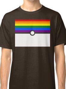LGBT+ Gay Pride PokeBall Classic T-Shirt