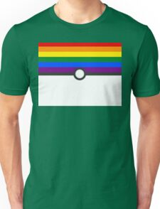 LGBT+ Gay Pride PokeBall Unisex T-Shirt