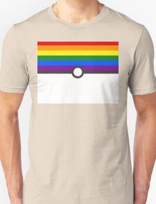 LGBT+ Gay Pride PokeBall Unisex T-Shirt
