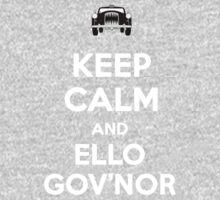 Keep Calm and Ello Gov'nor Kids Clothes