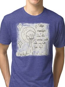 Mark C. Merchant brand doodle and words Tri-blend T-Shirt