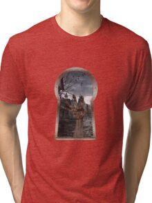 SHADOW HAND Tri-blend T-Shirt