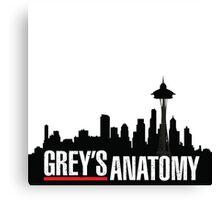 Grey's Anatomy  Canvas Print