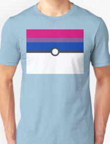 LGBT+ Bi Pride PokeBall Unisex T-Shirt
