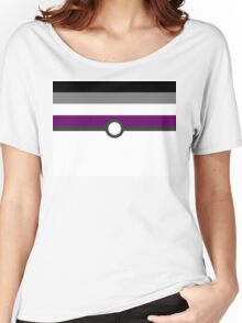 LGBT+ Ace Pride PokeBall Women's Relaxed Fit T-Shirt