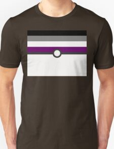 LGBT+ Ace Pride PokeBall Unisex T-Shirt