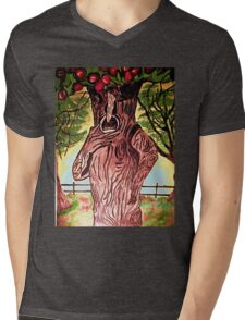 WIZARD OF OZ SELFISH APPLE TREE Mens V-Neck T-Shirt