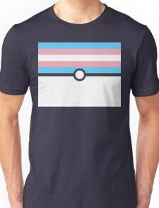 LGBT+ Trans Pride PokeBall Unisex T-Shirt