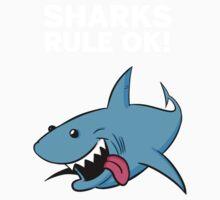 SHARKS RULE OK! Baby Tee