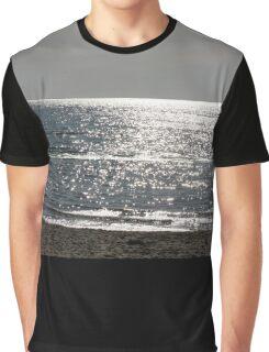 Glistening Ocean 3 Graphic T-Shirt