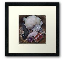 Rock Collection Framed Print