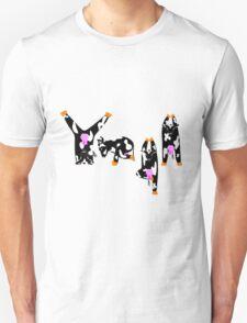 Yoga Cows Unisex T-Shirt