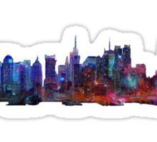 New York kind of feeling Sticker