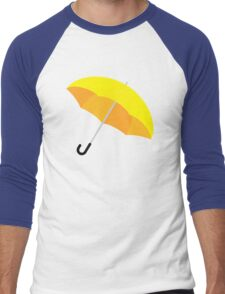 Yellow Umbrella Men's Baseball ¾ T-Shirt