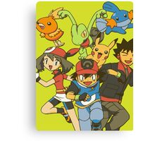 video game Canvas Print