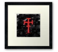 Colton Dixon Cross Framed Print