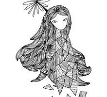 Sky Girl by auxlivia