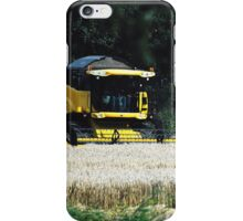 New Holland CX720 Wheat harvest iPhone Case/Skin