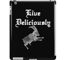 LIVE DELICIOULSLY - Black Phillip Style iPad Case/Skin