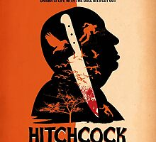 Alfred Hitchcock by Diego Riselli