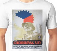 Vintage poster - Your Czechoslovak Ally Unisex T-Shirt