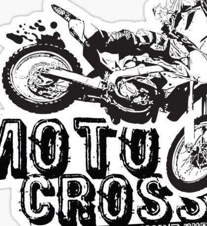 A Little Dirt Won't Hurt Motocross T-Shirt Sticker