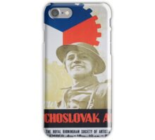 Vintage poster - Your Czechoslovak Ally iPhone Case/Skin
