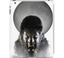 Werewolf Halloween T-Shirt iPad Case/Skin