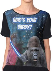 gorilla is your father Chiffon Top