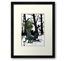 Got Brains? Halloween T-Shirt Framed Print