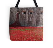 Tower of London Remembers WWI Tote Bag