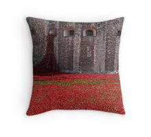 Tower of London Remembers WWI Throw Pillow
