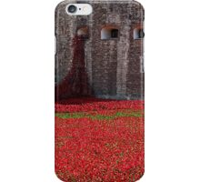 Tower of London Remembers WWI iPhone Case/Skin