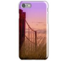 Sunset over the Farm Gate iPhone Case/Skin