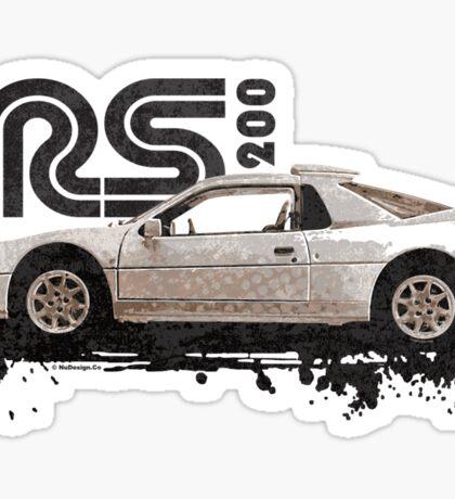 Motorsport T-Shirt Sticker