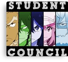 Student Council Anime Manga Shirt Canvas Print